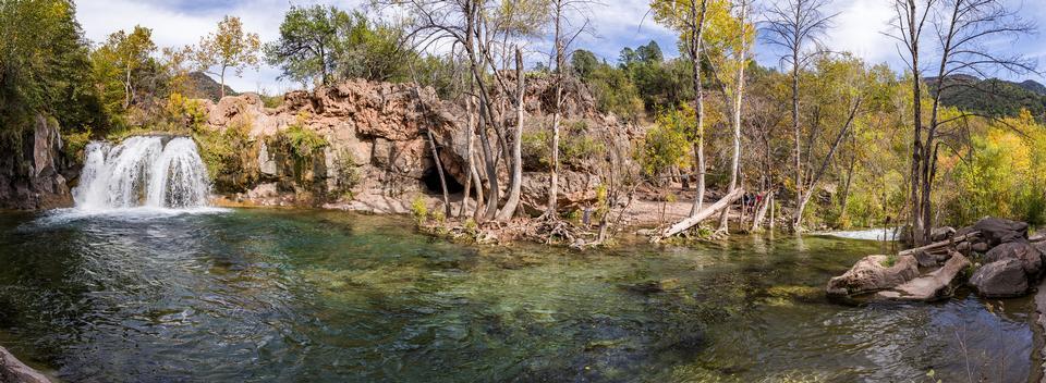 Autumn on Waterfall Trail, Fossil Creek