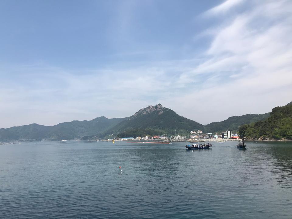 Saryangdo Tongyeong Island South Korea