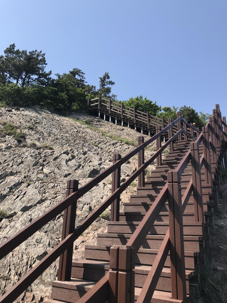 Wooden Bridge Saryangdo Tongyeong Island South Korea