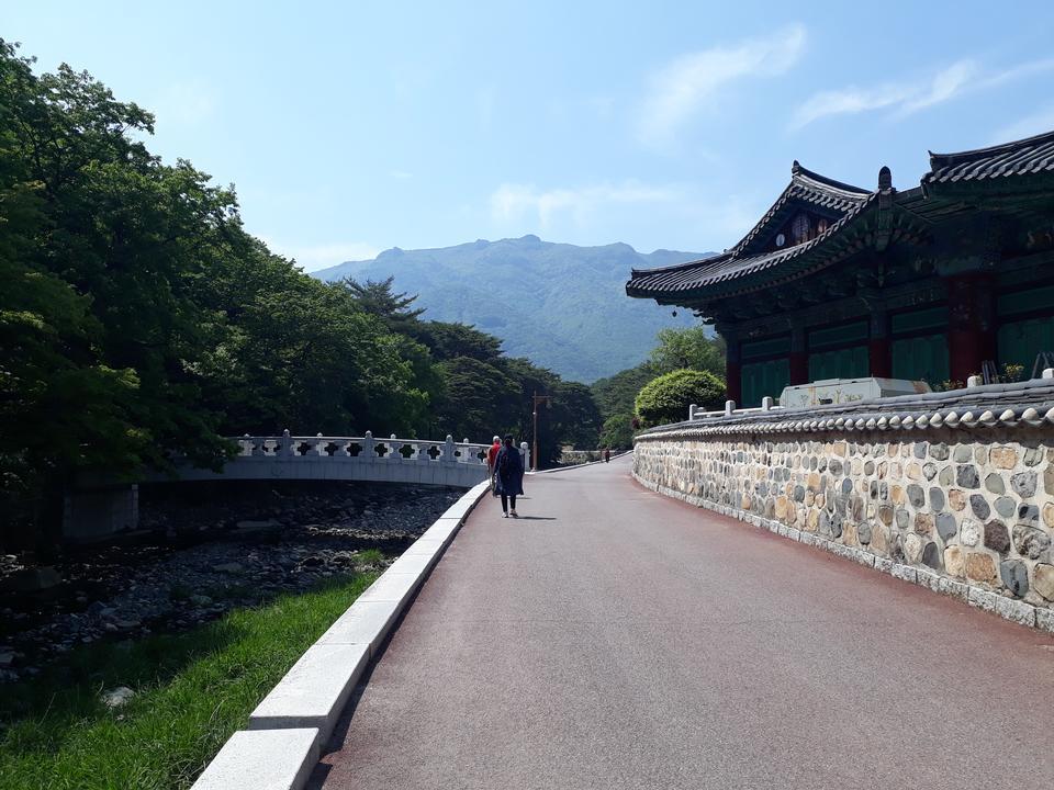 Tongdosa寺Yangsan韩国