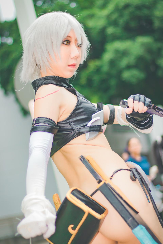 Cosplay Female fantasy warrior