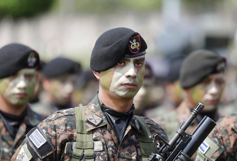 엘살바도르에서의 육군 퍼레이드