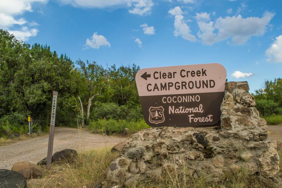 Campground in Coconino National Forest