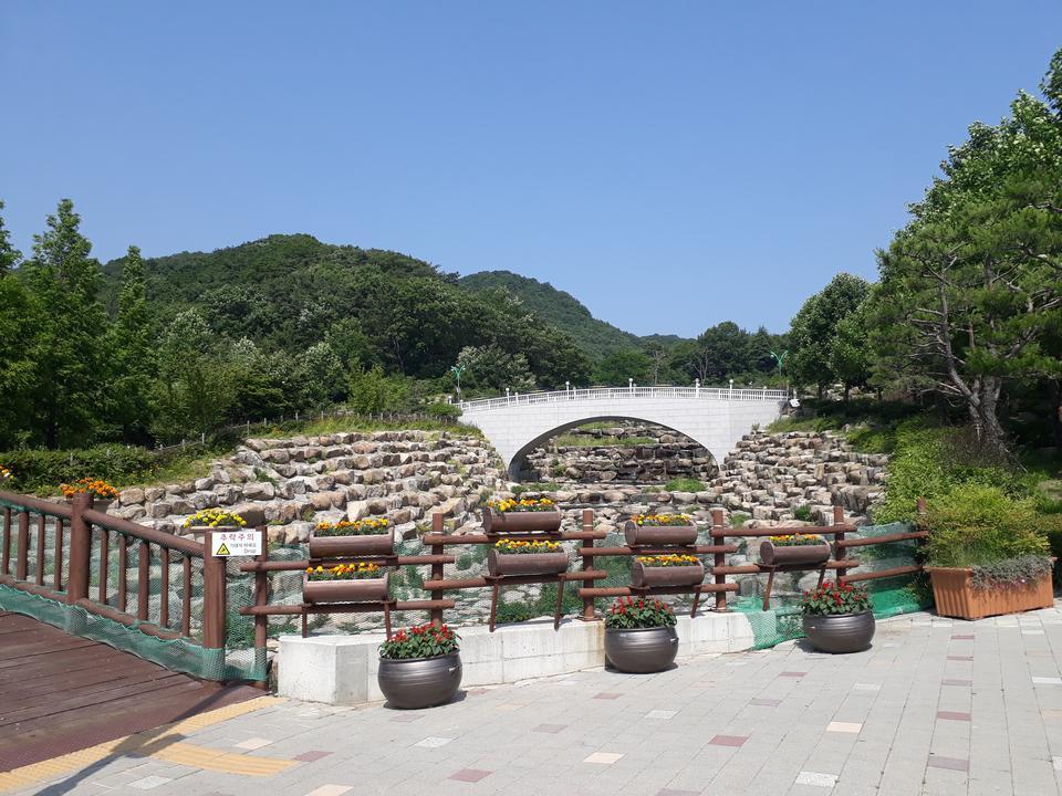 Hwamyeong Arboretum在釜山韩国