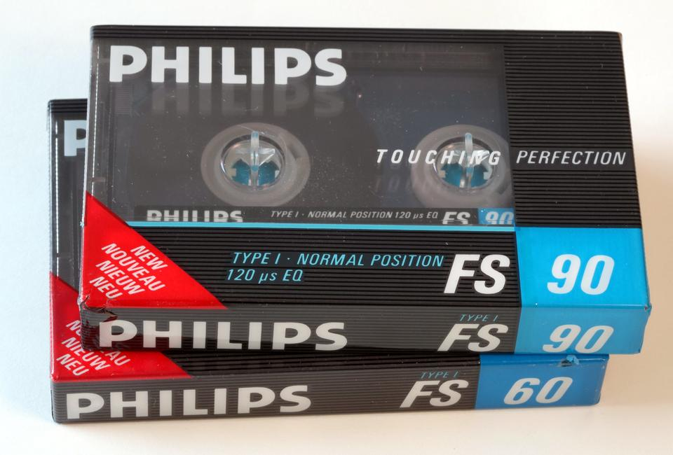 Philips Cassette Tape