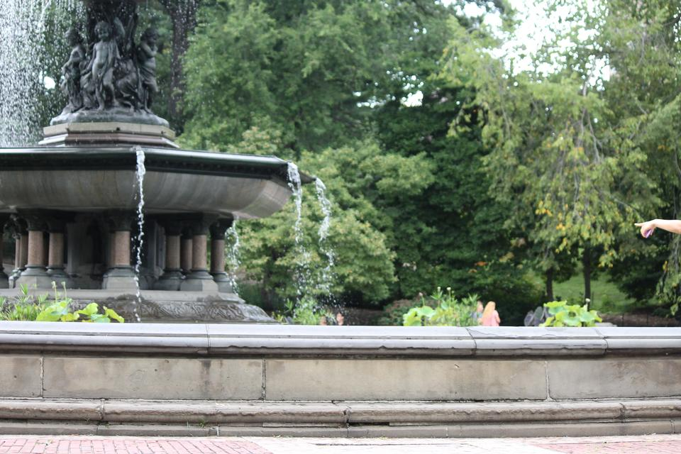 Fountain at Central Park