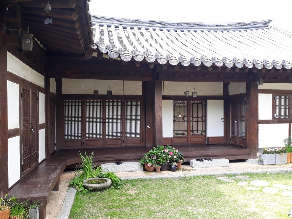 Jeonju Hanok Village em Jeonju, Coréia do Sul