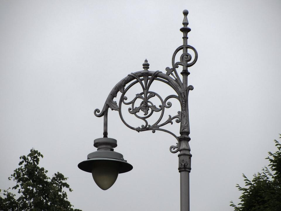 Old street lamppost