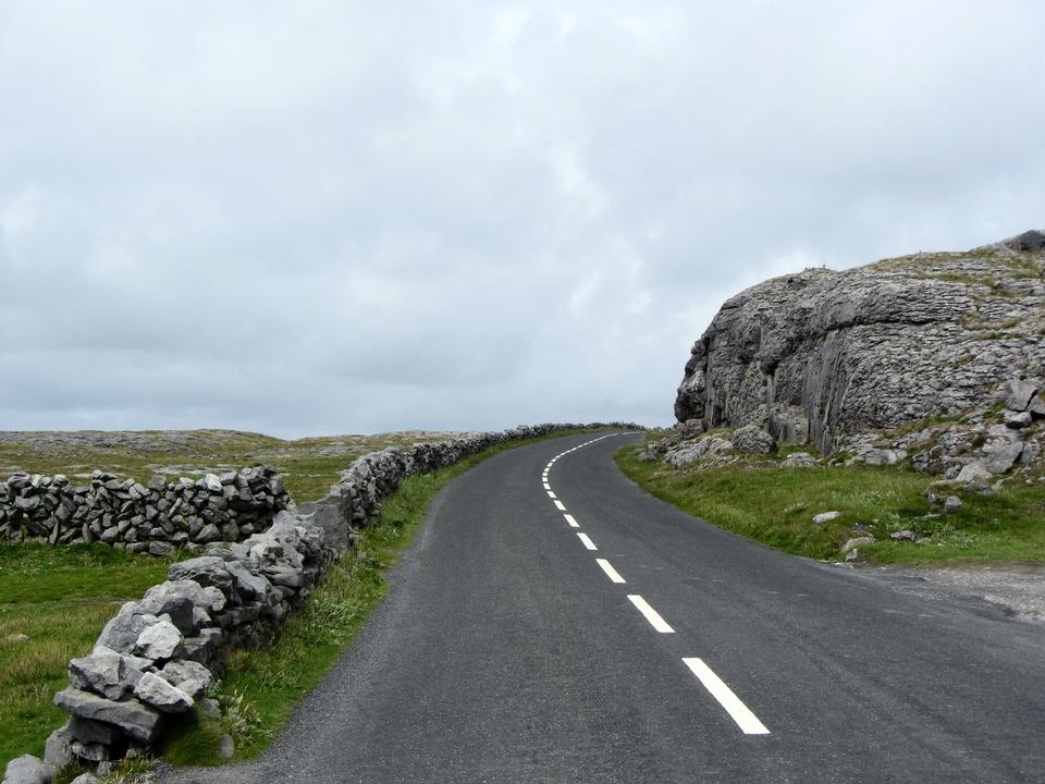 Burren region of County Clare, Ireland