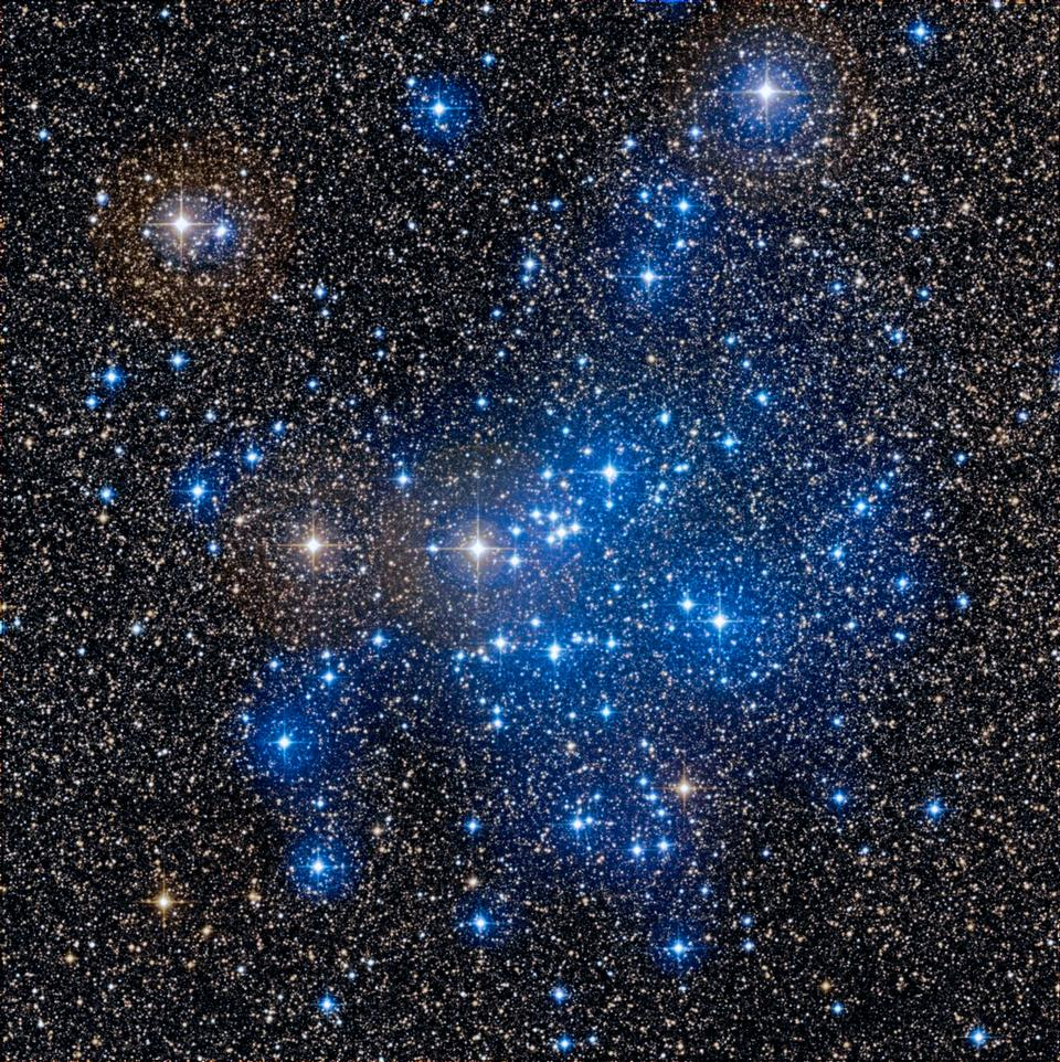 The cluster of stars