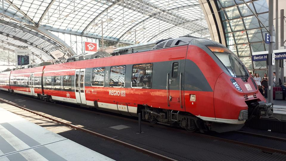 Berlin Main railway station