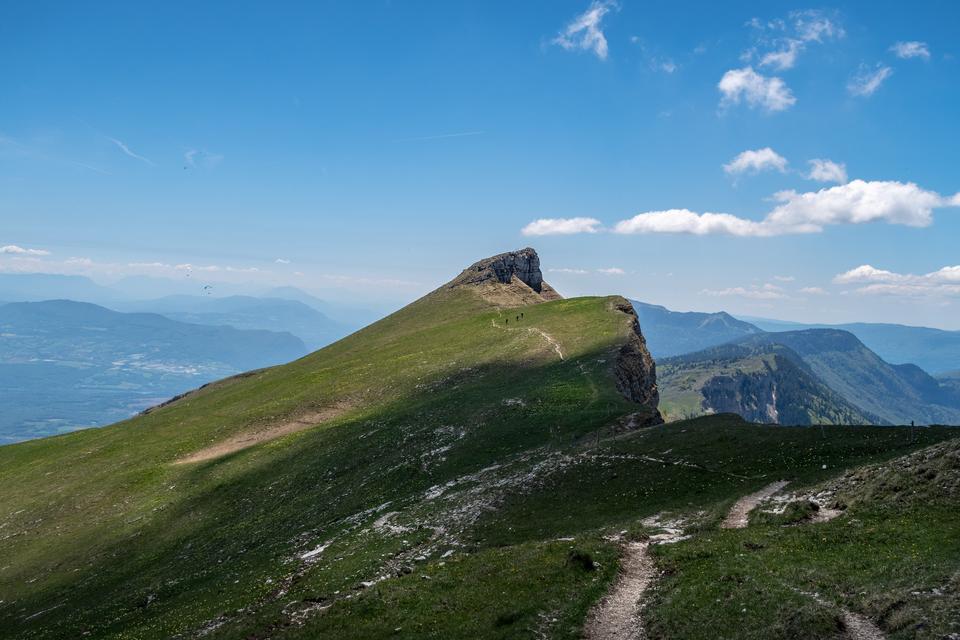 landscape of French Jura