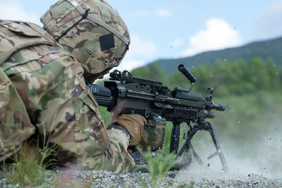 U.S. Army live-fire training