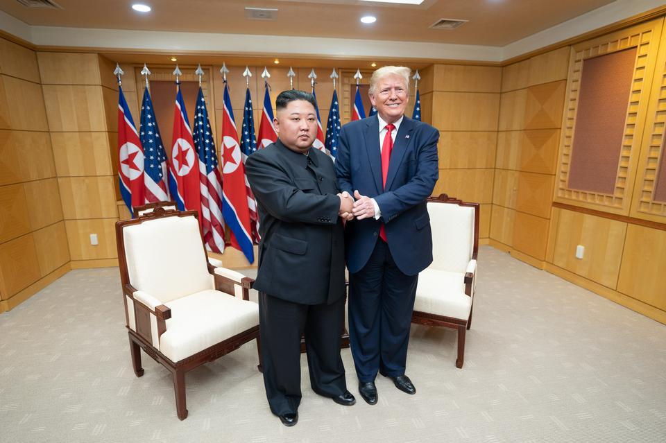 President Trump Meets with Chairman Kim Jong Un