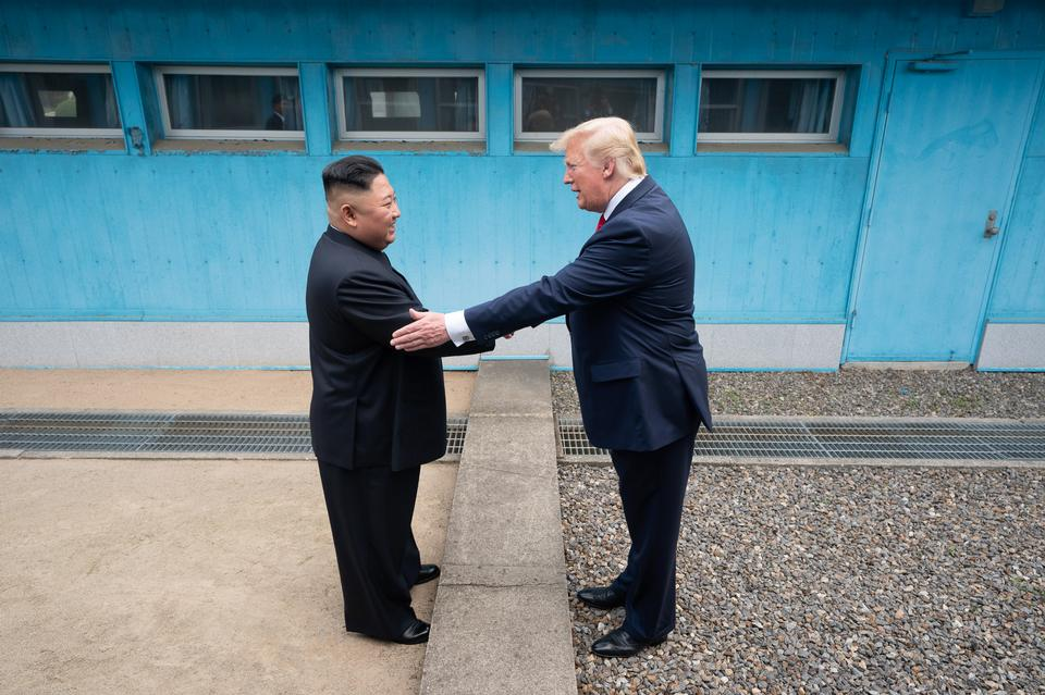 President Trump Meets with Chairman Kim Jong Un