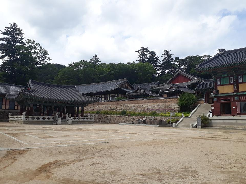 Haeinsa temple in Gayasan National Park