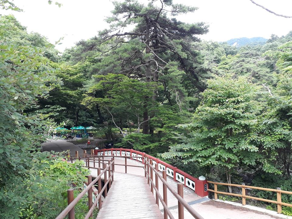 Gayasan National Park in South Korea