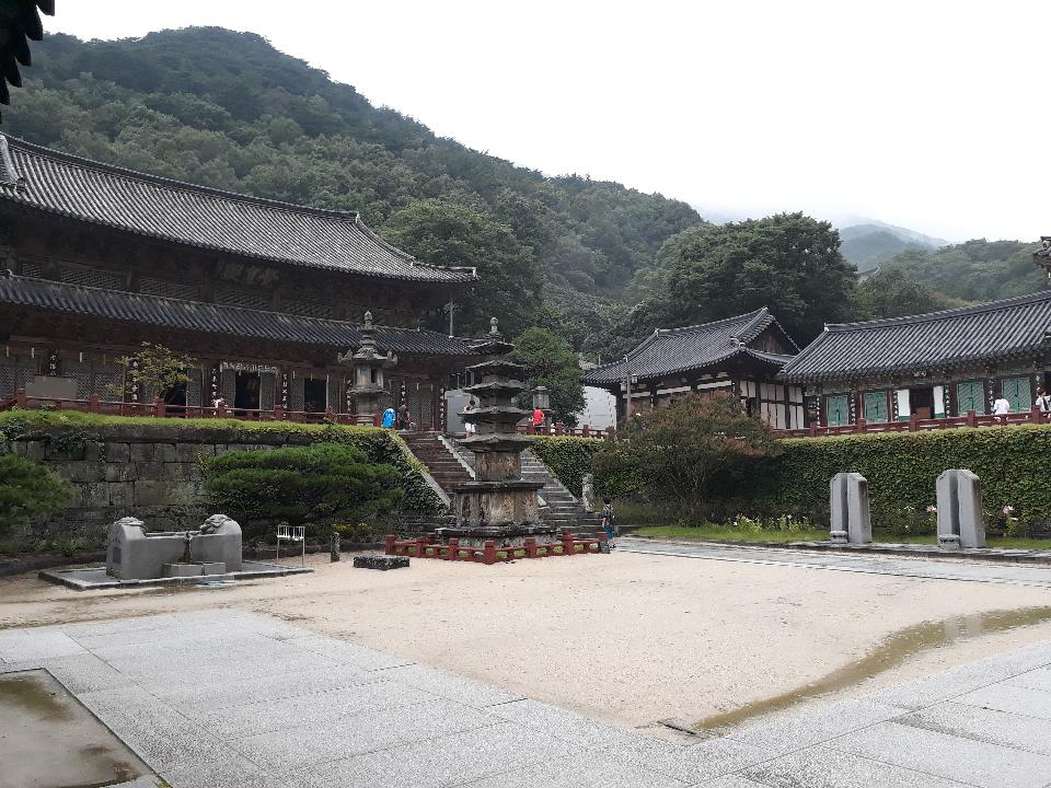 Hwaeomsa head temple in Gurye South Korea