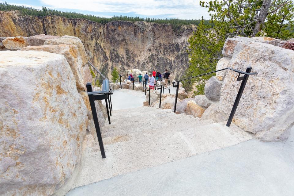 overlooks at Inspiration Point
