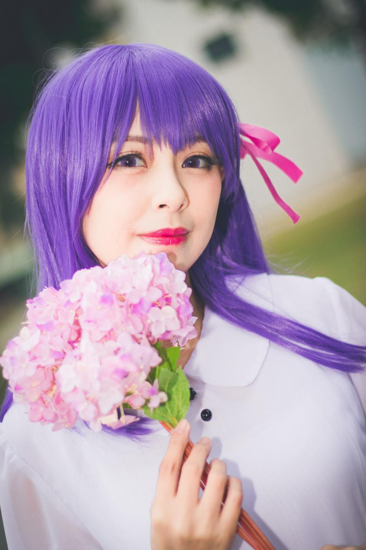 sexy Japanese girl anime cosplay