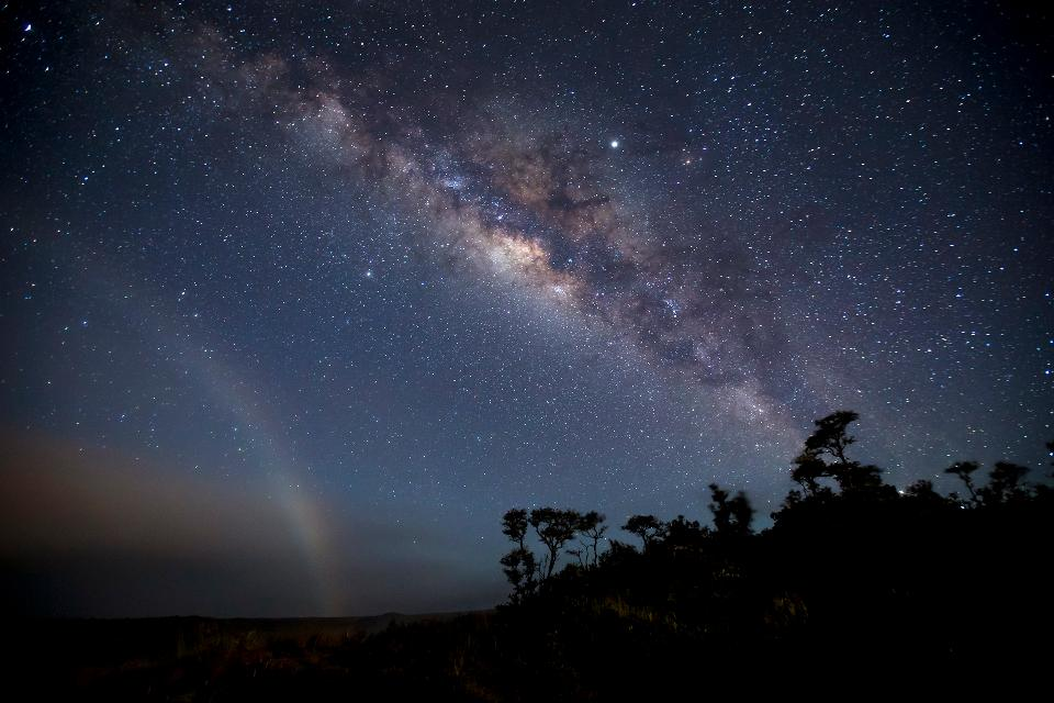 Kīlauea Nigh Sky in Hawaii Volcanoes National Park