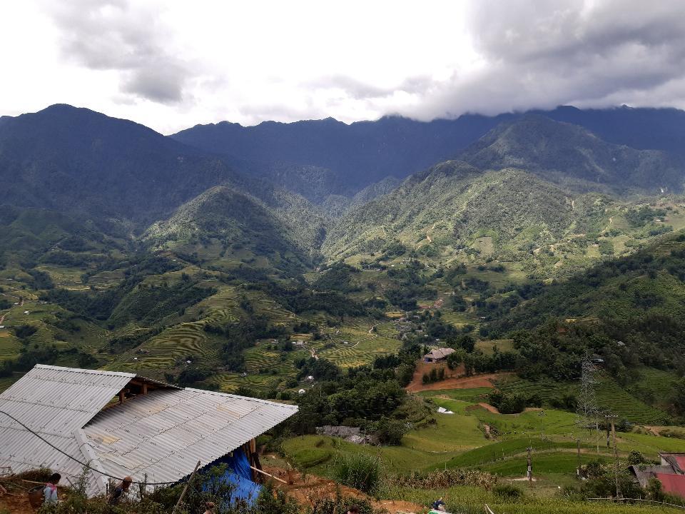 Mu Cang Chai, terraced rice field landscape