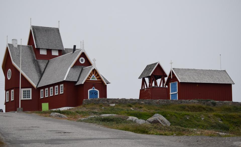格陵兰。凯凯塔苏瓦克