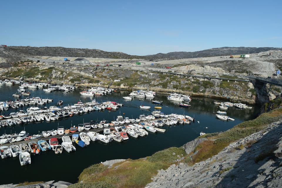 Greenland. Ilulissat. harbour