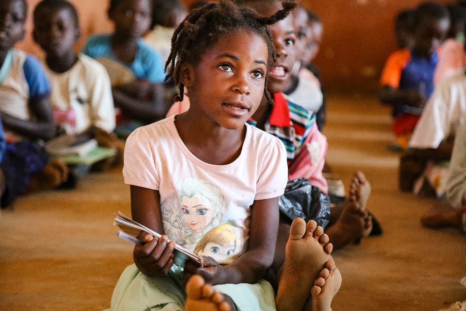 Mozambique classroom
