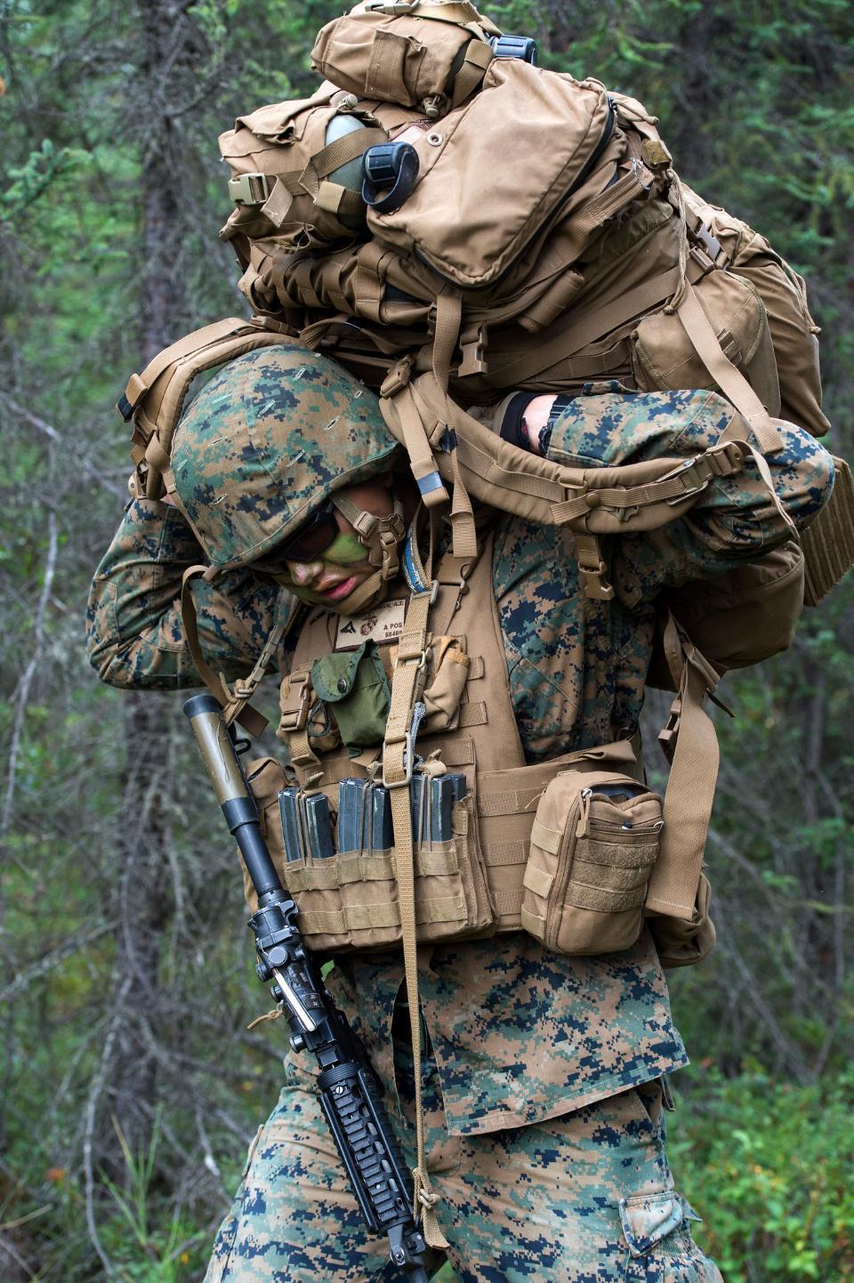 アメリカ海兵隊歩兵ライフル兵
