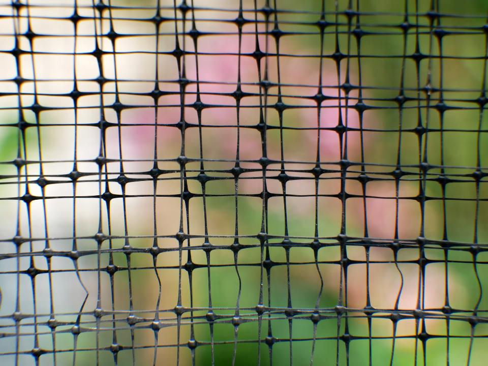 steel garden fence