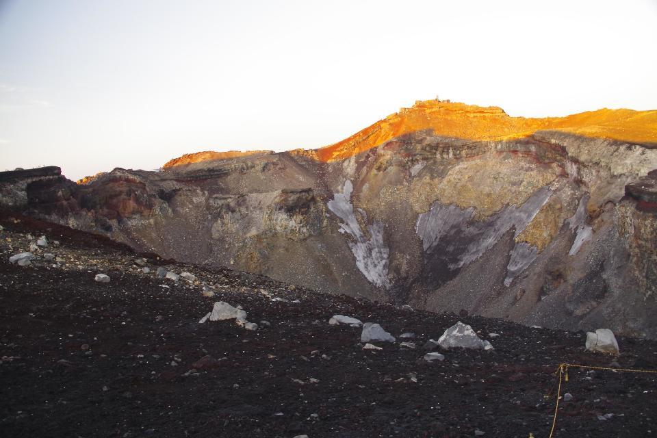Mt. Fuji climbing,Yoshida Trail for descent