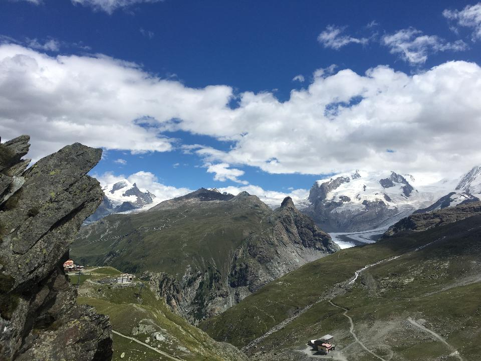 The famous Tour du Mont Blanc near Chamonix, France
