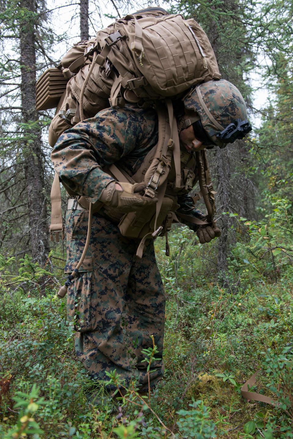 U.S. Marine Corps infantry riflemen