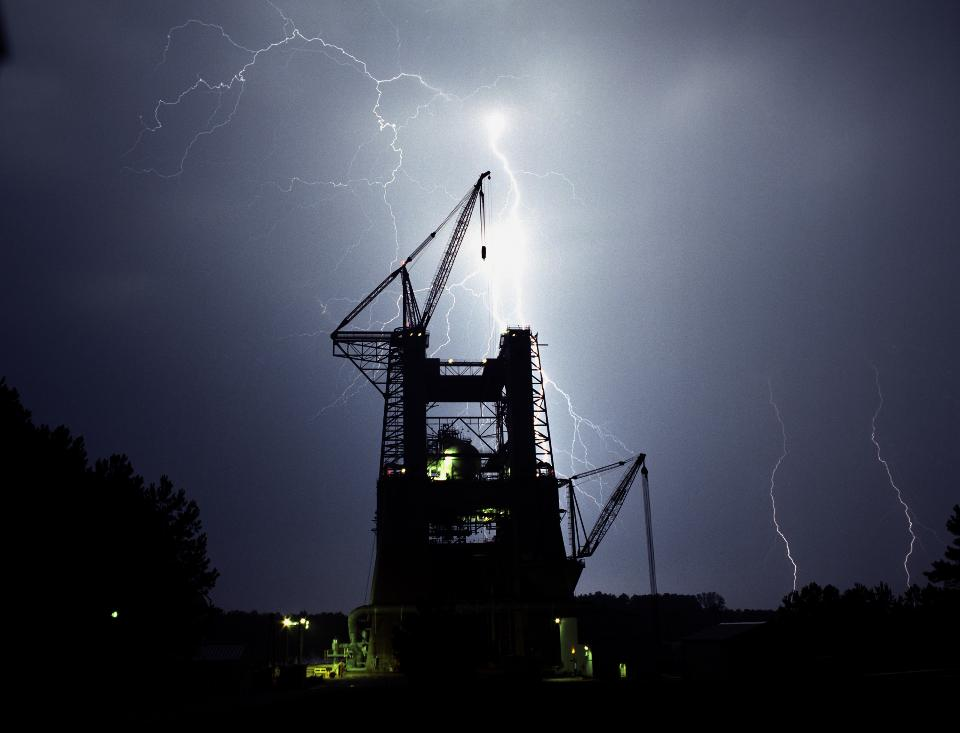 Lightning on the Test Stand