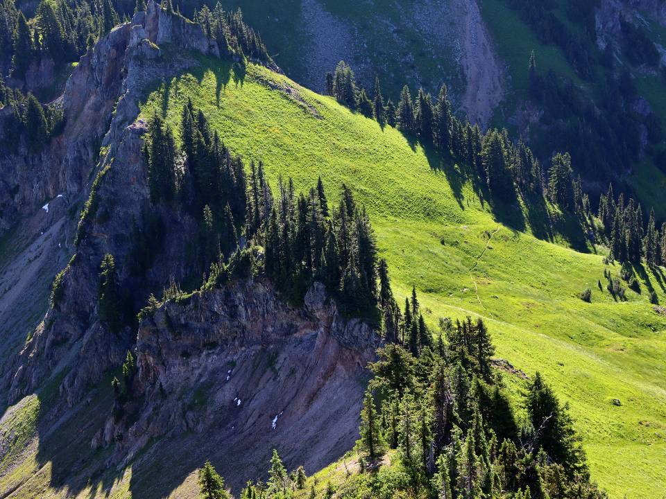 Tatoosh Wilderness in Washington