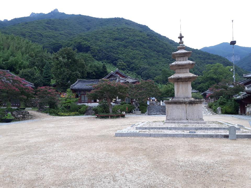 Three-story Stone Pagoda of Pyochungsa Temple, Miryang