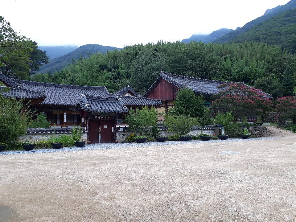 Pyochungsa Korean Buddhist temple in Miryang