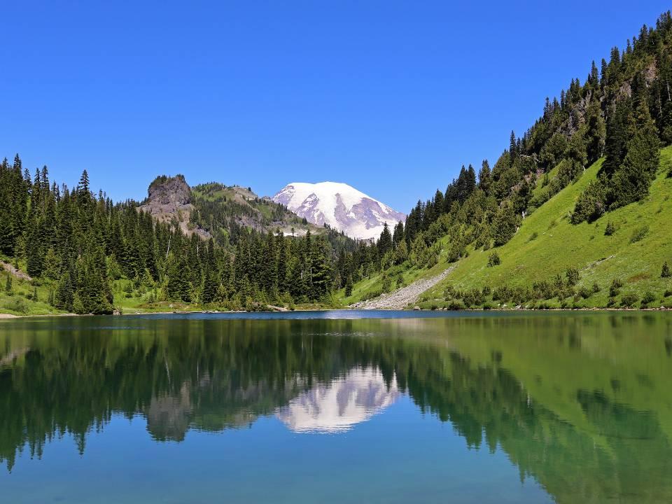 Tatoosh Lakes at Tatoosh Wilderness