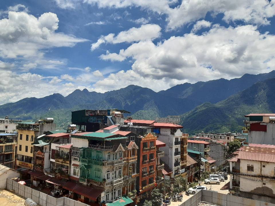 SaPa est une ville de la montagne Hoang Lien Son au Vietnam.