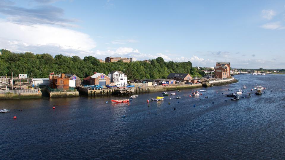 Cityscape Newcastle England
