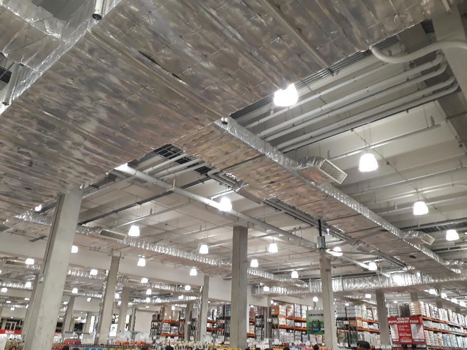 Costco warehouse shop