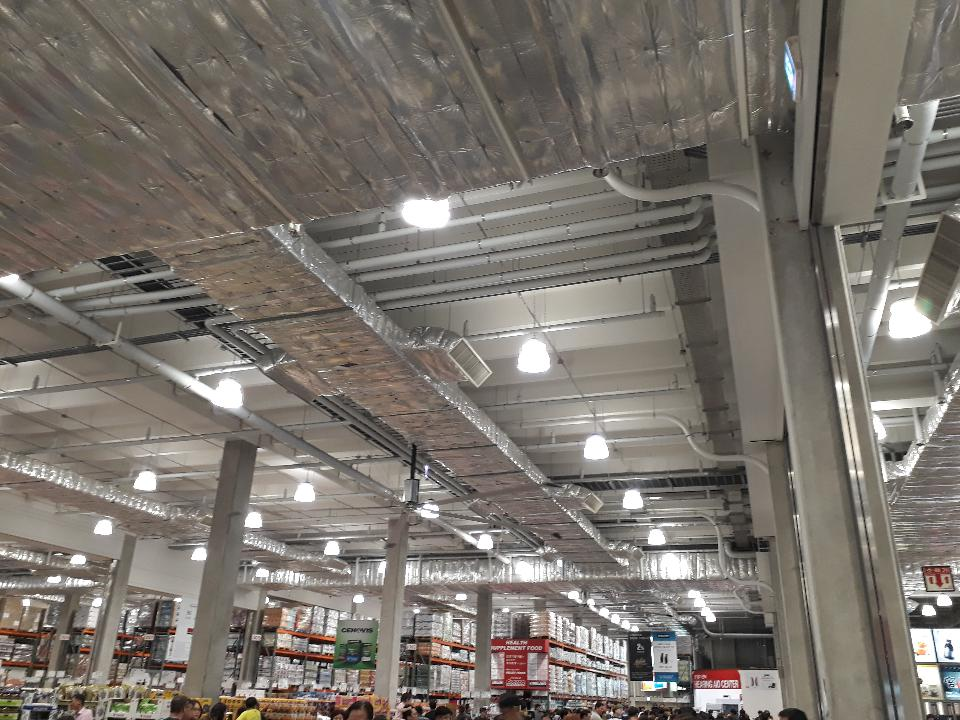 Costco warehouse shop