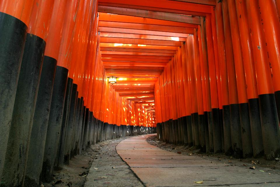 京都の伏見稲荷神社