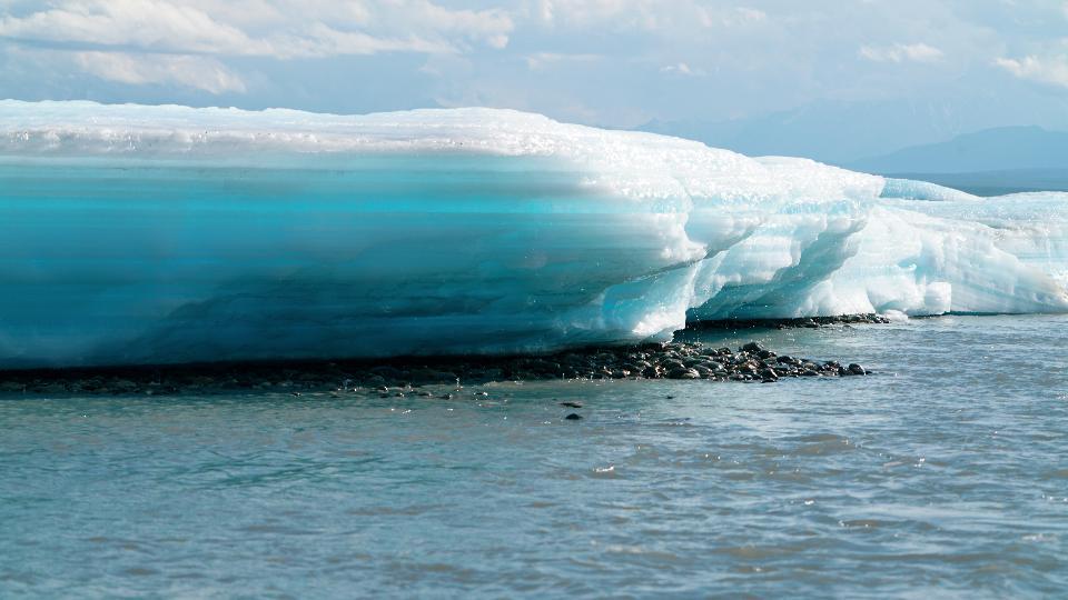 Glacier in Arctic National Wildlife Refuge
