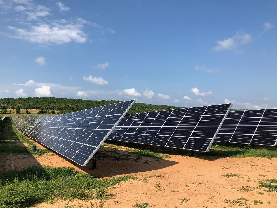 Solar Power Plant in Binh Thuan Vietnam
