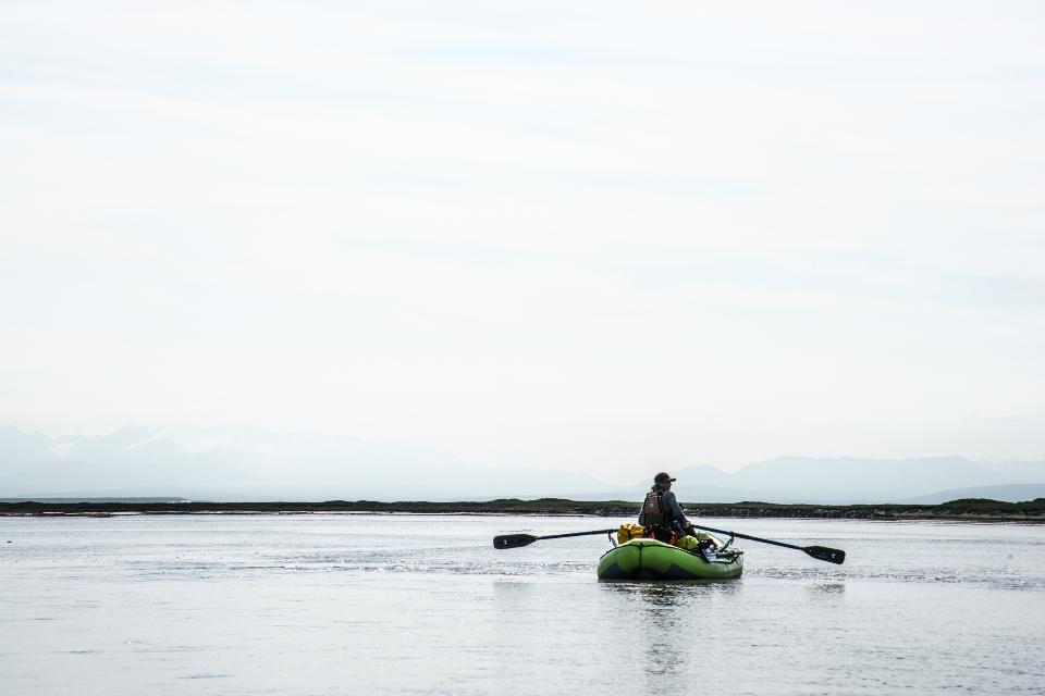 Rafting in Arctic National Wildlife Refuge