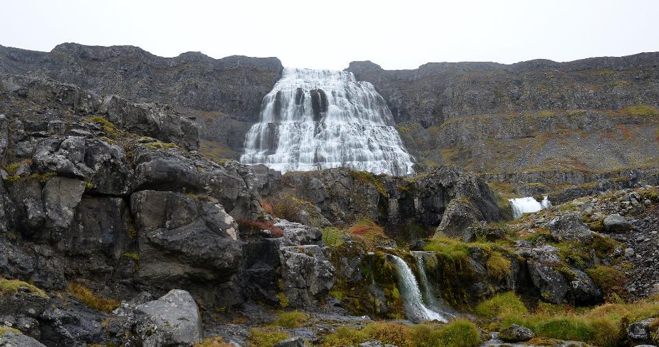The Magnificent Dynjandi Waterfall, Westfjords, Iceland
