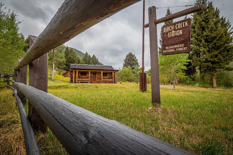 Beaverhead Deerlodge National Forest in Montana