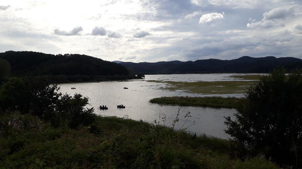 韩国昌宁市的Upo湿地
